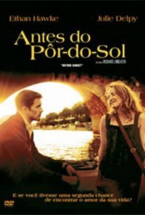 Cartaz do filme ANTES DO PÔR-DO-SOL – Before Sunset
