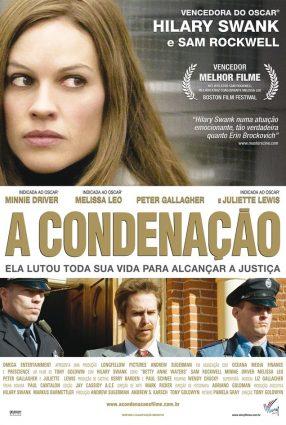 Cartaz do filme A CONDENAÇÃO – Conviction