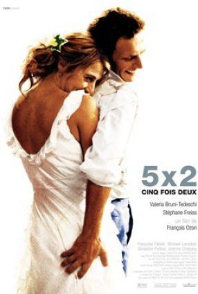 Cartaz do filme O AMOR EM 5 TEMPOS – 5X2