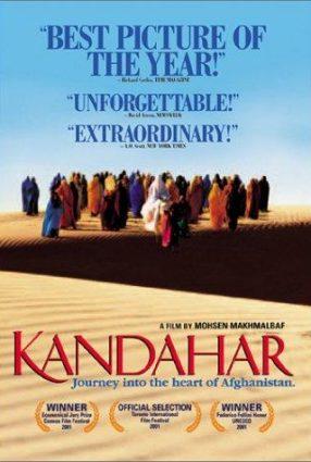 Cartaz do filme A CAMINHO DE KANDAHAR – Safar e Ghandehar