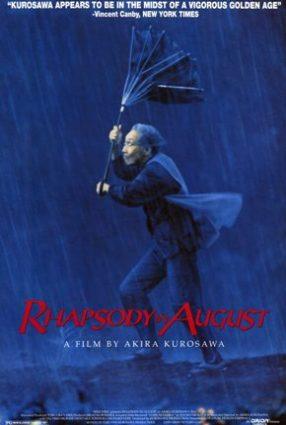 Cartaz do filme RAPSÓDIA EM AGOSTO – Rhapsody in August