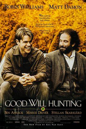 Cartaz do filme GÊNIO INDOMÁVEL – Good Will Hunting