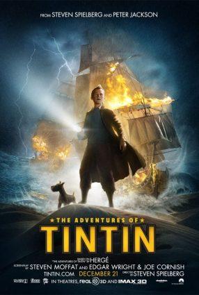 Cartaz do filme AS AVENTURAS DE TINTIM – The Adventures of Tintim: The Secret of the Unicorn
