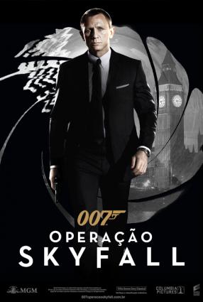 Cartaz do filme 007 –  OPERAÇÃO SKYFALL – Skyfall