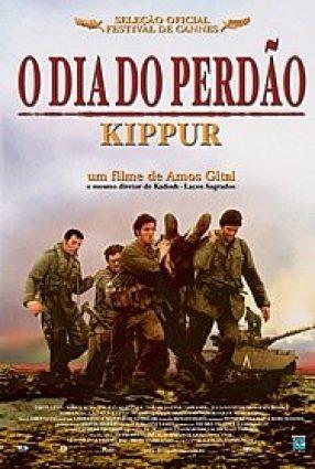 Cartaz do filme O DIA DO PERDÃO – Kippur