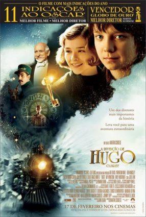 Cartaz do filme A INVENÇÃO DE HUGO CABRET – Hugo