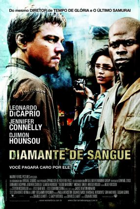 Cartaz do filme DIAMANTE DE SANGUE – Blood Diamond