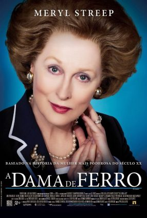 Cartaz do filme A DAMA DE FERRO – The Iron Lady