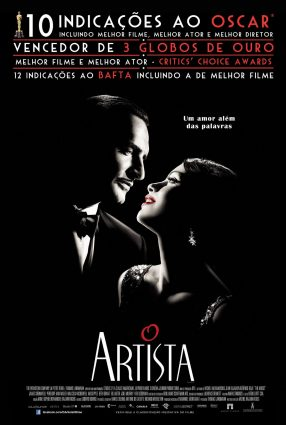 Cartaz do filme O ARTISTA – The Artist