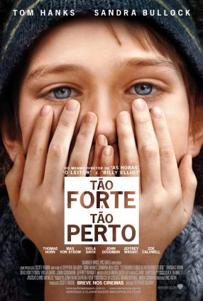 Cartaz do filme TÃO FORTE E TÃO PERTO – Extremely Loud & Incredibly Close