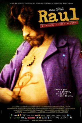 Cartaz do filme RAUL – O INÍCIO, O FIM E O MEIO