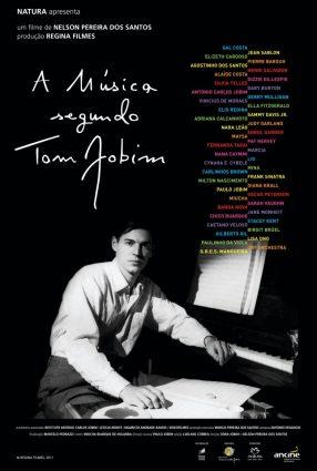 Cartaz do filme A MÚSICA SEGUNDO TOM JOBIM