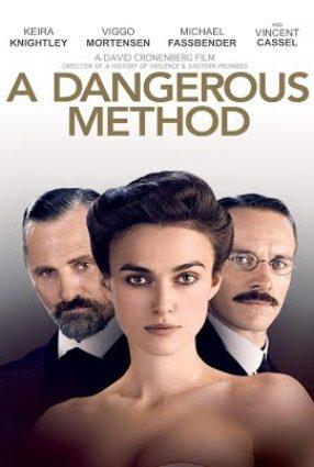Cartaz do filme UM MÉTODO PERIGOSO – A Dangerous Method