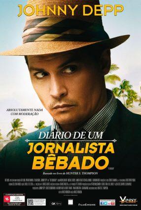 Cartaz do filme DIÁRIO DE UM JORNALISTA BÊBADO – The Rum Diary
