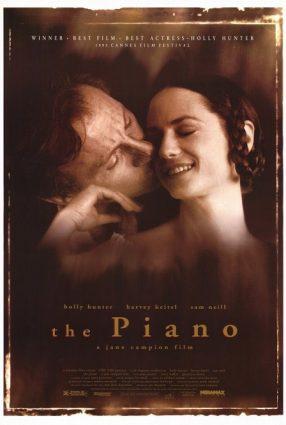 Cartaz do filme O PIANO – The Piano