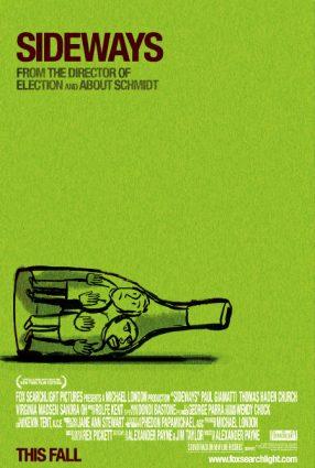Cartaz do filme SIDEWAYS – ENTRE UMAS E OUTRAS – Sideways
