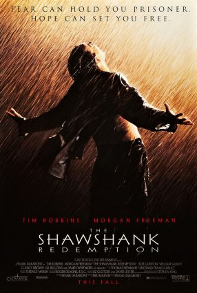 Cartaz do filme UM SONHO DE LIBERDADE – The Shawshank Redemption