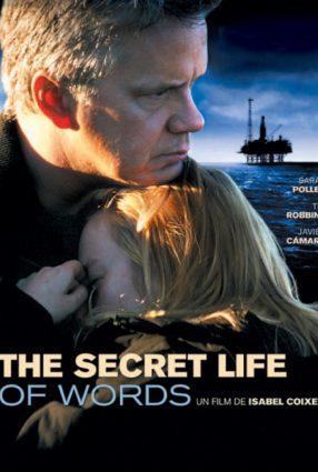 Cartaz do filme A VIDA SECRETA DAS PALAVRAS – The Secret Life of Words