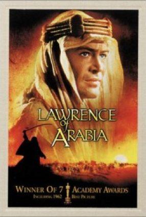 Cartaz do filme LAWRENCE DA ARÁBIA – Lawrence of Arabia