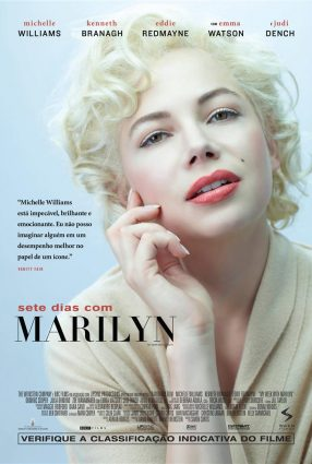 Cartaz do filme SETE DIAS COM MARILYN – My Week with Marilyn