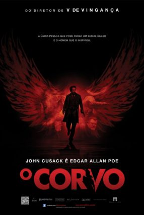 Cartaz do filme O CORVO – The Raven