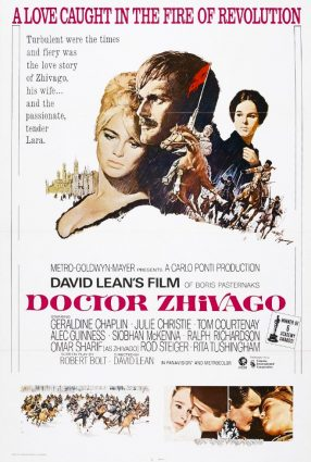 Cartaz do filme DOUTOR JIVAGO – Doctor Zhivago