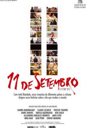 """Cartaz do filme 11 DE SETEMBRO – 11'09""""01"""