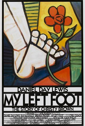 Cartaz do filme MEU PÉ ESQUERDO – My Left Foot