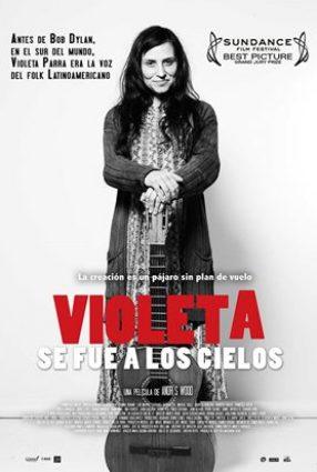 Cartaz do filme VIOLETA FOI PARA O CÉU – Violeta Se Fue a los Cielo