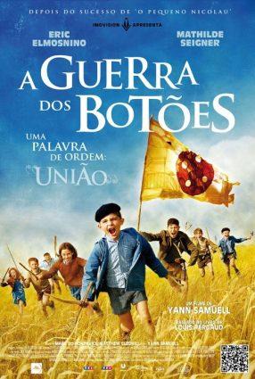 Cartaz do filme A GUERRA DOS BOTÕES – La Guerre des Boutons