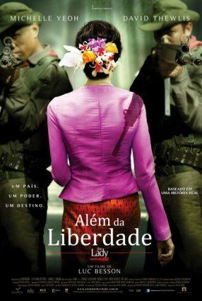 Cartaz do filme ALÉM DA LIBERDADE – The Lady