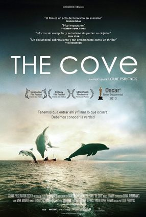 Cartaz do filme A ENSEADA – The Cove