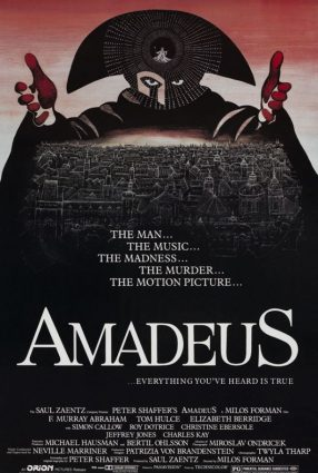 Cartaz do filme AMADEUS