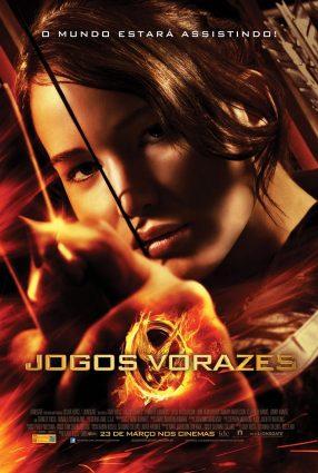 Cartaz do filme JOGOS VORAZES – Hunger Games