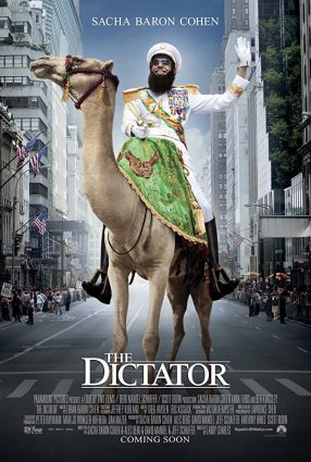 Cartaz do filme O DITADOR – The Dictator