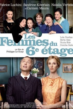 Cartaz do filme AS MULHERES DO 6º ANDAR – Les femmes du 6ème étage