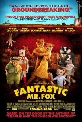 Cartaz do filme O FANTÁSTICO SR. RAPOSO – Fantastic Mr. Fox