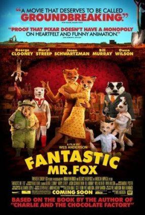 Cartaz do filme O FANTÁSTICO SR. RAPOSO – Fantastic Mr. Fox