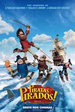 Cartaz do filme PIRATAS PIRADOS – The Pirates! Band of Misfits