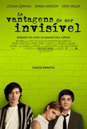 Cartaz do filme AS VANTAGENS DE SER INVISÍVEL – The Perks of Being Wallflower