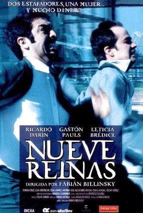 Cartaz do filme NOVE RAINHAS – Nueve Reinas