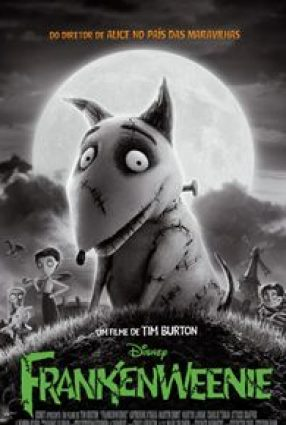 Cartaz do filme FRANKENWEENIE