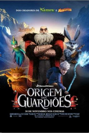 Cartaz do filme A ORIGEM DOS GUARDIÕES – Rise of the Guardians