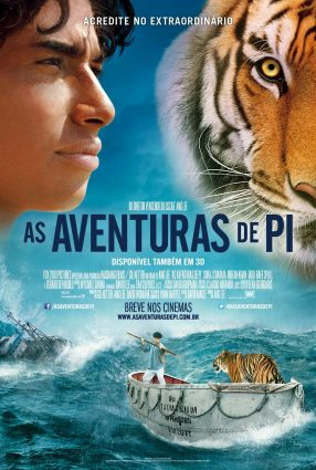 Cartaz do filme AS AVENTURAS DE PI – Life of Pi