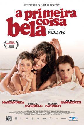 Cartaz do filme A PRIMEIRA COISA BELA – La Prima Cosa Bella