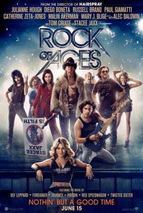 Cartaz do filme ROCK OF AGES – O FILME – Rock of Ages