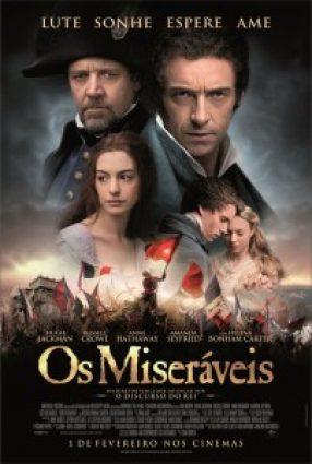 Cartaz do filme OS MISERÁVEIS – Les Misérables