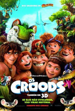 Cartaz do filme OS CROODS – The Croods