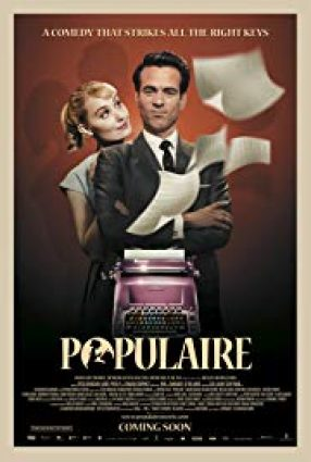 Cartaz do filme A DATILÓGRAFA – Populaire