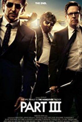 Cartaz do filme SE BEBER, NÃO CASE – PARTE III – The Hangover Part III